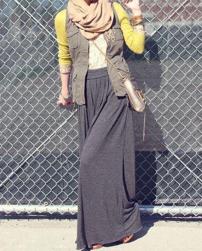 great casual #hijabi #style