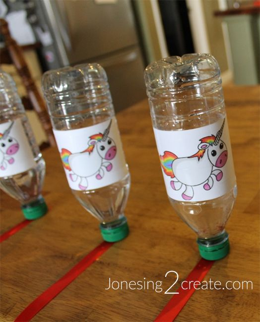 Minute to Win It Rainbow Unicorn Birthday Party Game Ideas.