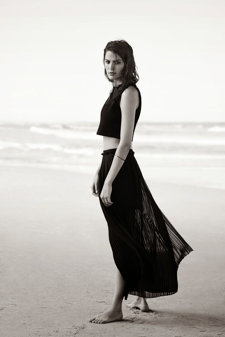 Cameron Russell for Witchery // http://www.ohmygilded.com/2014/07/wicked-witchery.html