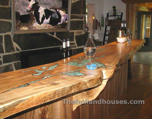 Rustic Wood Countertop Gambar Bergerak