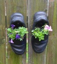 scarpe vecchie_riciclo creativo