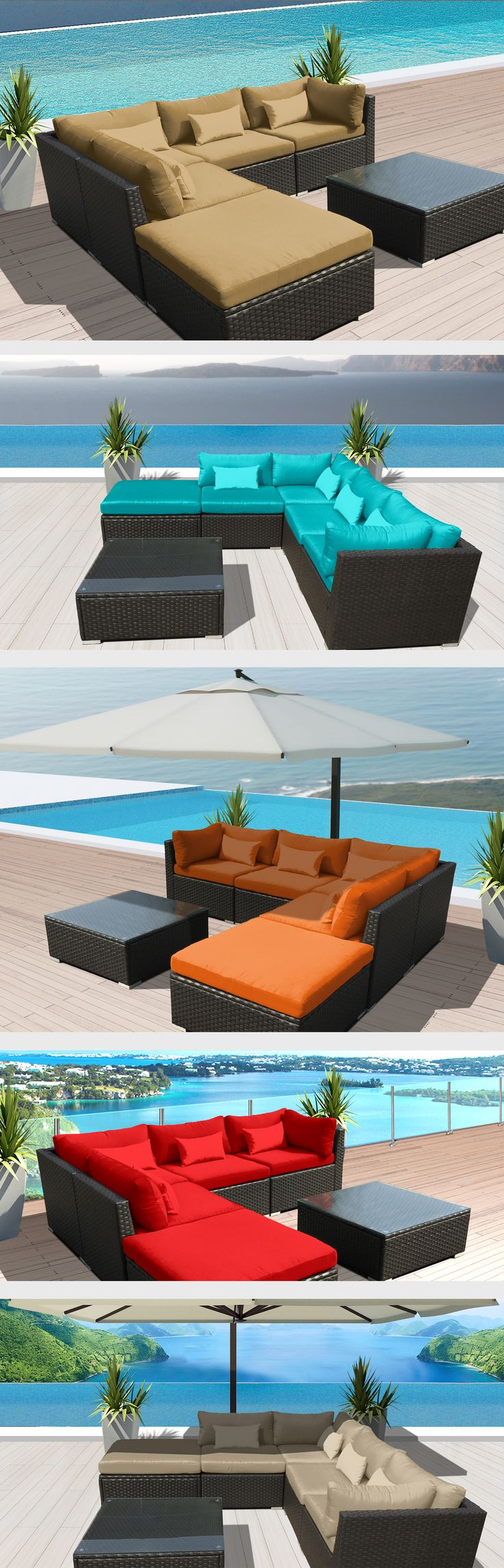 79 best outdoor furniture images on Pinterest | Balcony, Black and ...