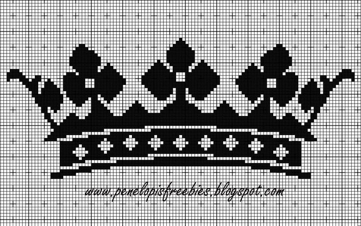 Crown - cross stitch                                                                                                                                                                                 More