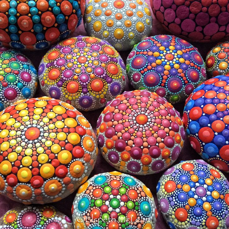 Hi everyone! Elspeth McLean here, thank you to everyone who has liked and shared my mandala stones! Wow what a journey. Click on this image and you'll be linked to my website where you can read up on all information about then including where and when to get them. Blessings x