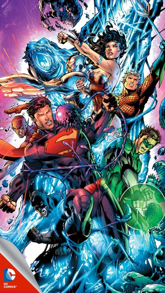 Justice League iPhone wallpaper
