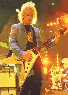 Brad Whitford - Aerosmith - Hamer Korina Vector