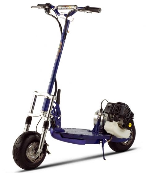 X-Treme XG-555 High Performance Gas Scooter - Top Of The Line: 50cc 2 Stroke. The XG-555 comes standard with a EPA certified gasoline engine. The XG-555 cannot be broken. Toughest gas powered scooter on the market today