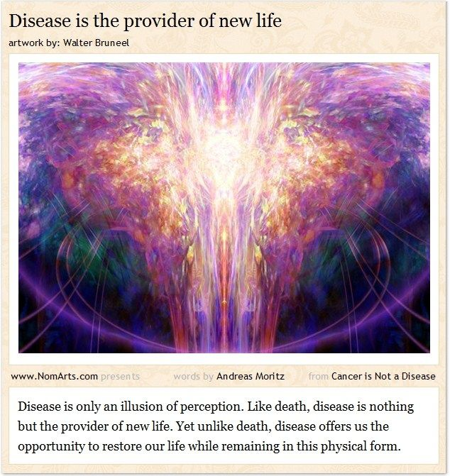 Charmant Disease Is The Provider Of New Life #quotes #health #healing