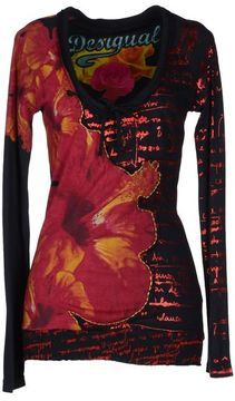 DESIGUAL Long sleeve t-shirt on shopstyle.ca