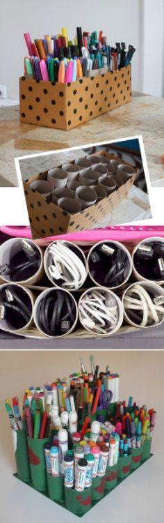 Que faire avec vos rouleaux de papier toilette ? Voici 45 idées !