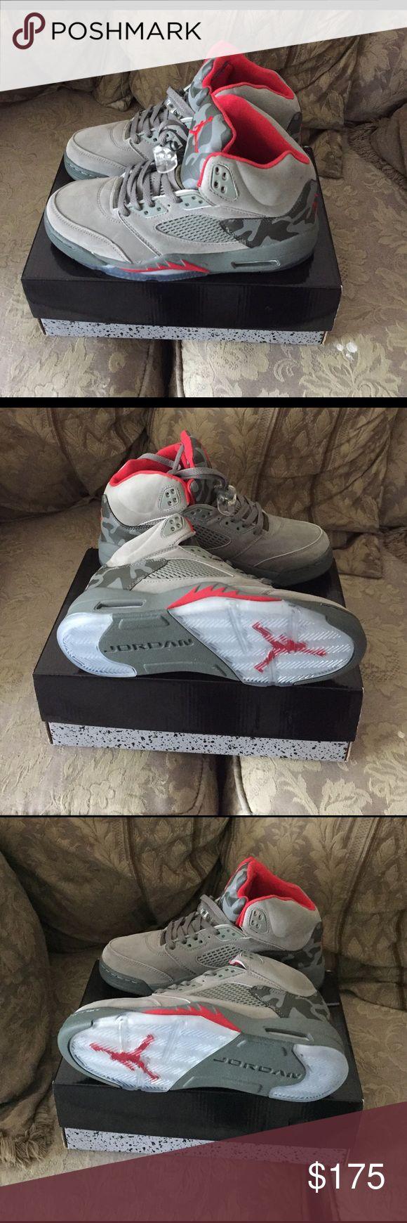 Air Jordan Retro 5 Brand New, Never Worn! 100% authentic Jordan Shoes Athletic Shoes