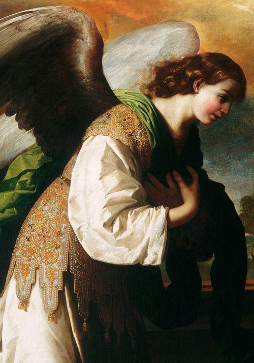 The Annunciation - Francisco de Zurbarán. Detail.: