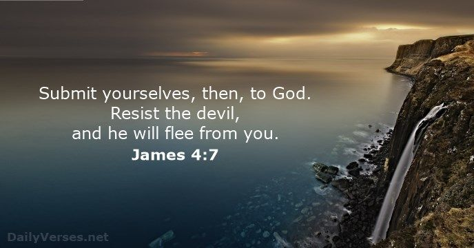 James 4:7 - dailyverses.net