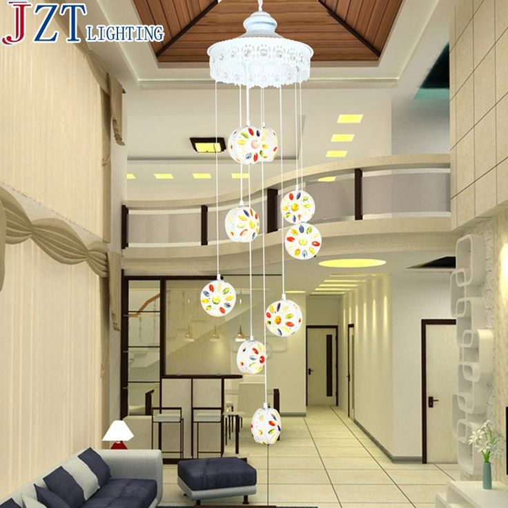 318.33$  Watch now - http://alifde.worldwells.pw/go.php?t=32707779392 - M European Bohemia Mediterranean 9 Head Droplight Color Crystal Lamp H165cm * Dia36cm 9 * E27 LED Bulb For Sitting Room Bedroom 318.33$