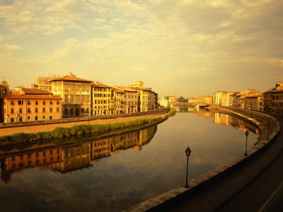River Arno and Waterfront Buildings, Pisa, Tuscany, ItalyWall Art, Picture-Black Posters, Gallery, Art Prints, Buildings, Art Com, Art Collection, Tuscany Italy, Frames Art