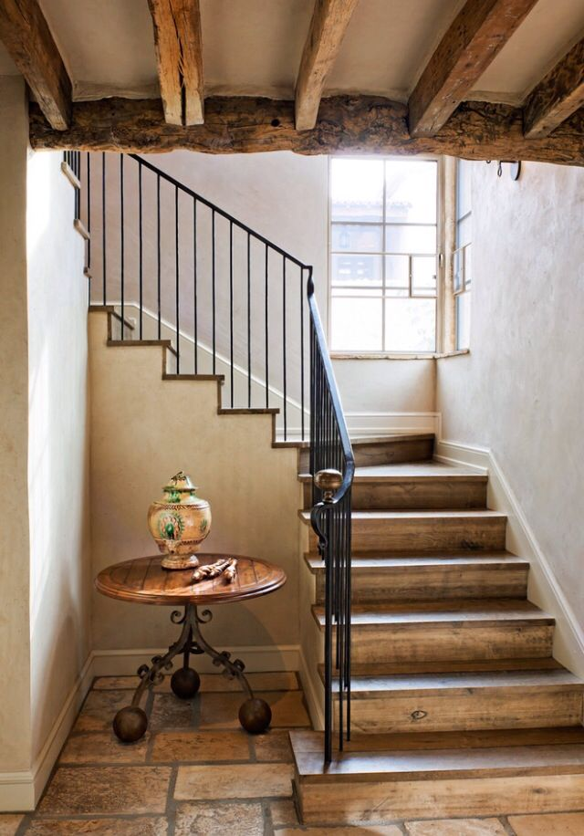Rustic staircase House ideas