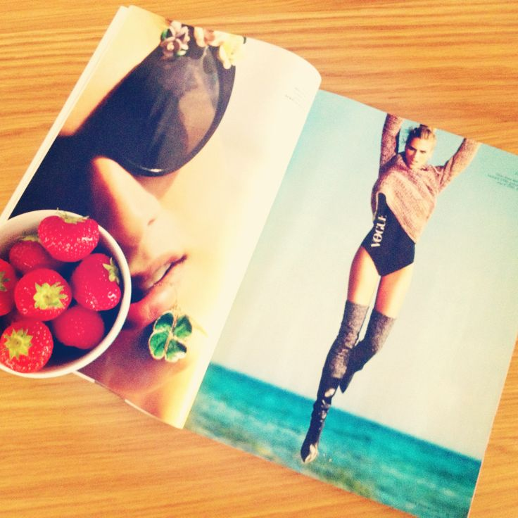 Vogue and Strawberries
