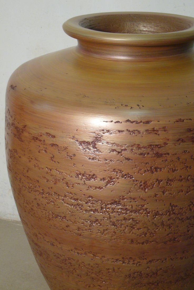 velká měděná váza Marubi, big cuprum vase Marubi