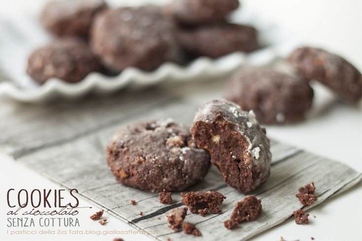 Cookies al cioccolato - senza cottura