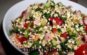 Оригинальный восточный салат Табуле