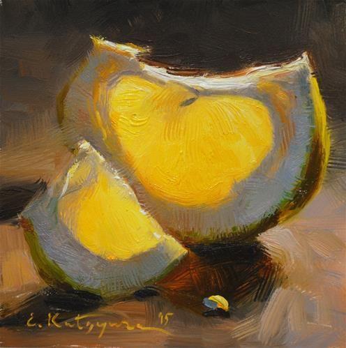 "Daily Paintworks - ""Suntouched"" - Original Fine Art for Sale - © Elena Katsyura"