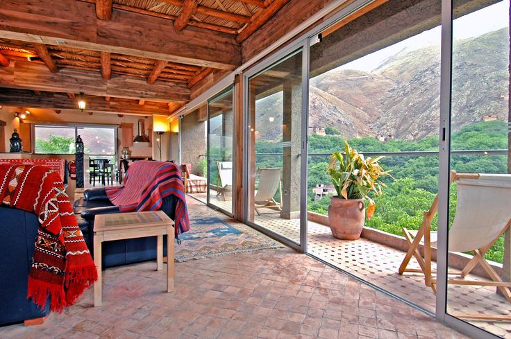 Kasbah du Toubkal is a retreat in the High Atlas Mountains.   http://www.xoprivate.com/suites/kasbah-du-toubkal/  #travel #lifestyle www.xoprivate.com