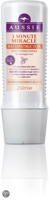 Aussie 3 Minute Miracle Reconstructor - 250ml - Haarmasker