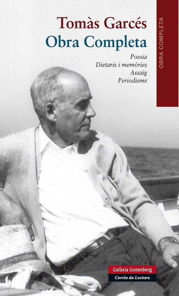 Febrer 2016 -- Tomàs Garcés (Barcelona, 1901- 1993) és autor d'una obra literària sòlida i personalíssima, d'una tal qualitat artística que l'ha situat entre els més destacats mestres de la poesia i la prosa catalanes del segle xx. A més de poeta i de traductor d'altres poetes europeus, Garcés també ha estat un magnífic conreador de la pr osa en un gran ventall de registres.