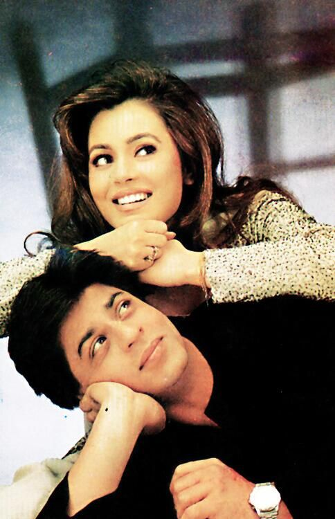 Shah Rukh Khan and Mahima Chaudary - Pardes (1997)