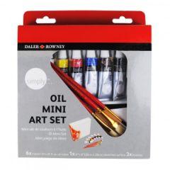 Daler&Rowney SIMPLY OIL MINI ART SET