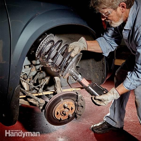 If you've put 80,000 or more miles on your struts, they're worn out and must be replaced. We know they're expensive (about $700 for front struts replaced at