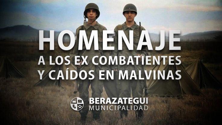 HOMENAJE A LOS EX COMBATIENTES Y CAÍDOS DE MALVINAS - Berazategui