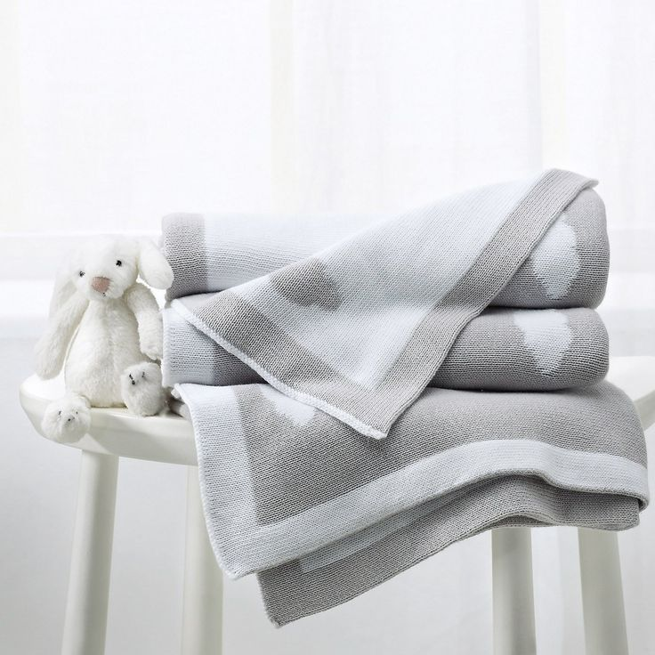 Reversible Cloud Blanket from The White Company