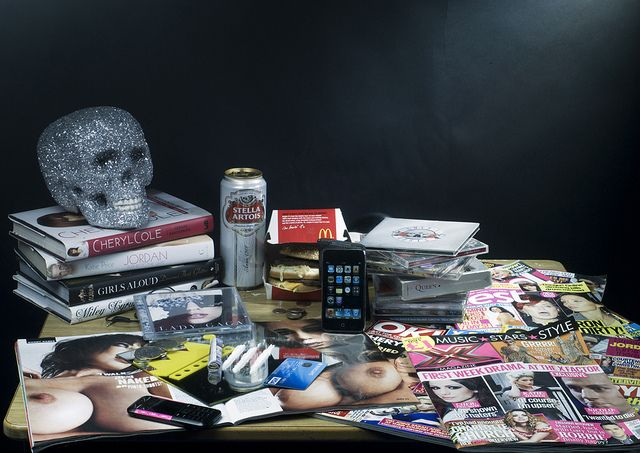 Modern Vanitas Still Life | spent the last few days being intrigued by what a contemporary vanitas ...