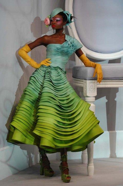 Spring 2007 Couture,Christian Dior, Debra Shaw  (VIVA)  Look 9