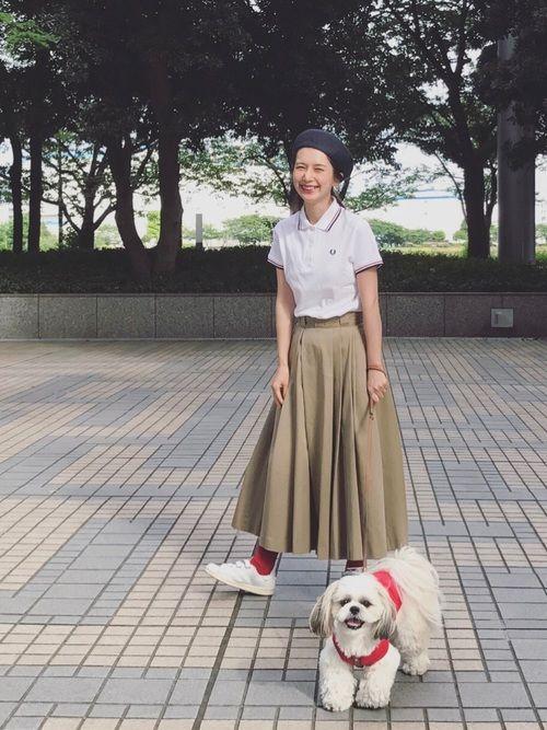 FRED PERRYのポロシャツ「Twin Tipped Fred Perry Shirt (Made in England)」を使ったKazumiのコーディネートです。WEARはモデル・俳優・ショップスタッフなどの着こなしをチェックできるファッションコーディネートサイトです。