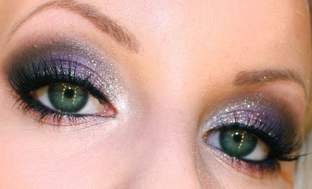 Nyårssminkning – Gröna ögon   IMAKEYOUSMILE - Makeup inspiration   Bloglovin'