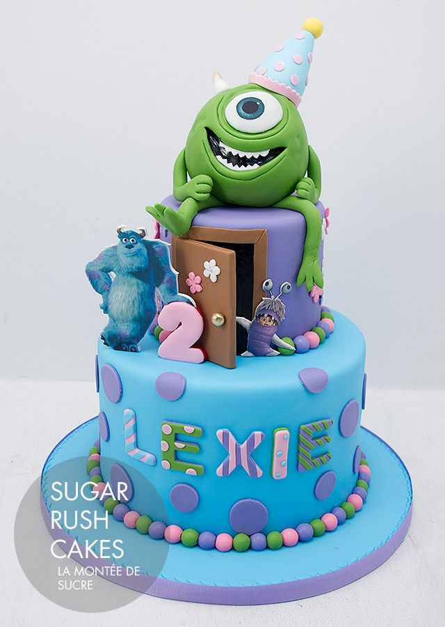 Gâteau Monsters University