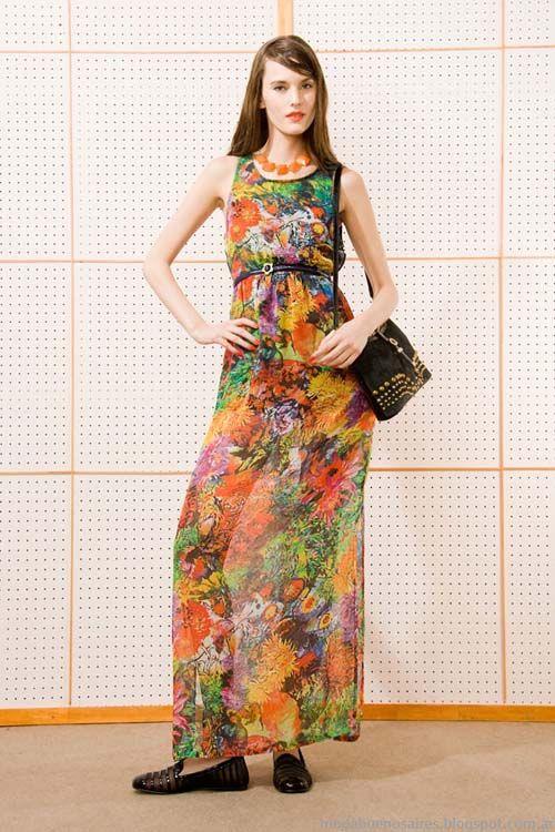 Vestidos de verano 2014 largos moda mujer LAs Pepas.
