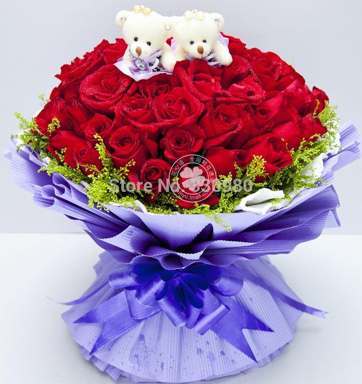 99 розы цветок магазин заказать цветы все Китай внутренний доставка цветов