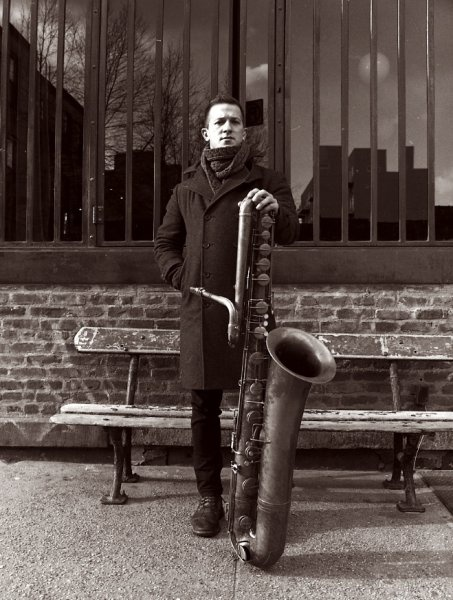 Colin Stetson, born in Ann Arbor, Michigan and currently based in Montreal, Quebec, is a saxophonist and multireedist, and touring member of Arcade Fire, Bell Orchestre and Bon Iver. In addition to saxophone, he plays clarinet, bass clarinet, french horn, flute, and cornet.