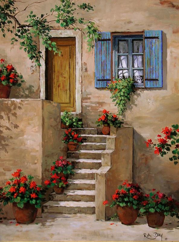 Rose Ann Day - Crimson Abundance