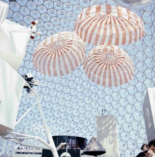 Buckminster Fuller, Geodesic Dome, US pavilion Expo'67, Montreal