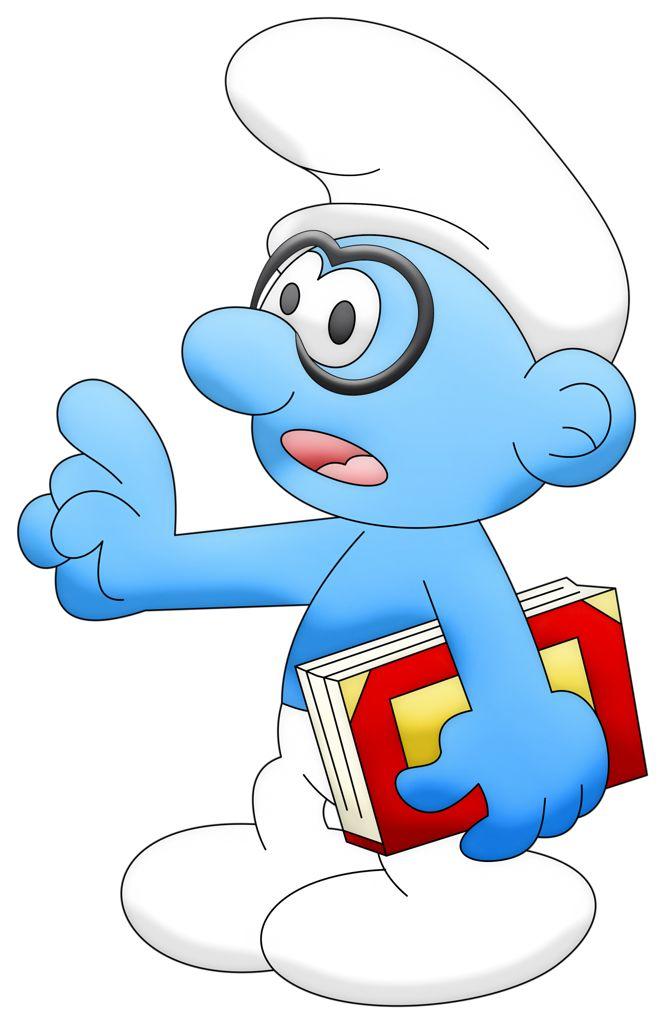 Iclone 5 Cartoon Characters : Co smurfs smurf genio