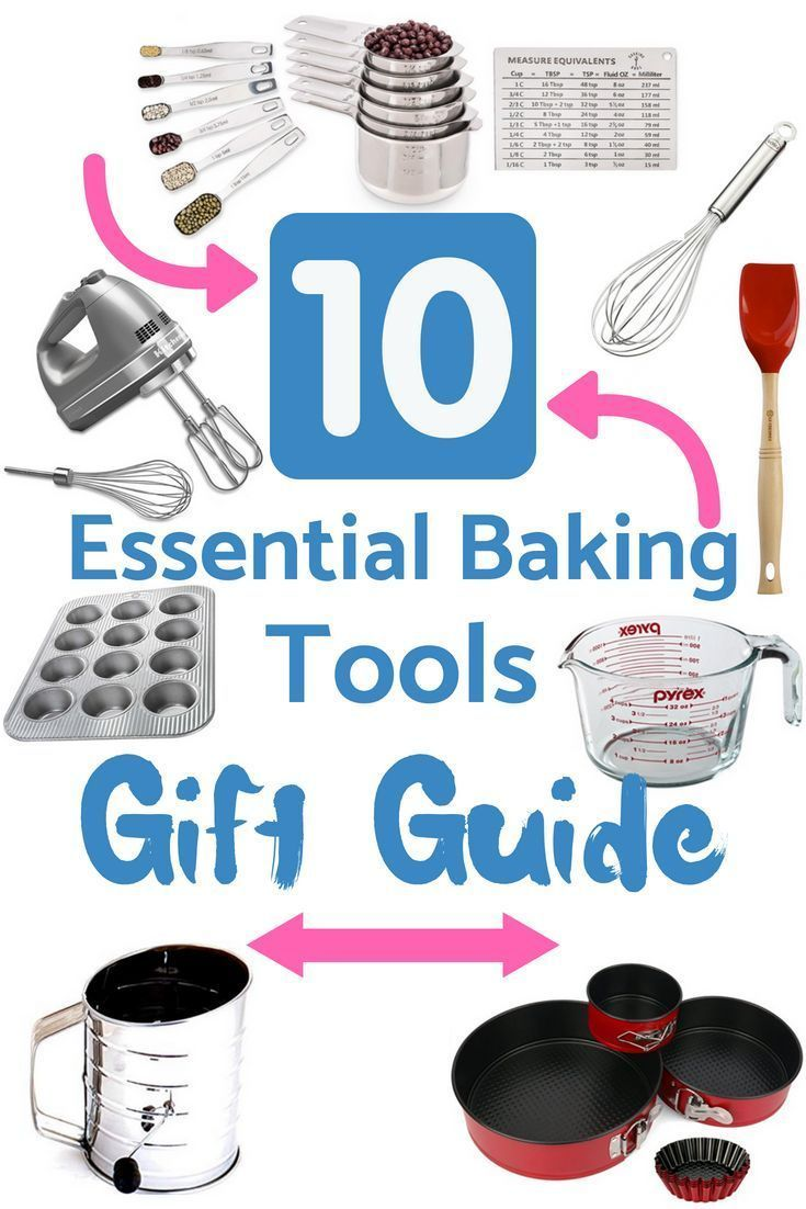 Baking Tools for Beginners - Gift Guide | Kitchen gifts | Pinterest ...