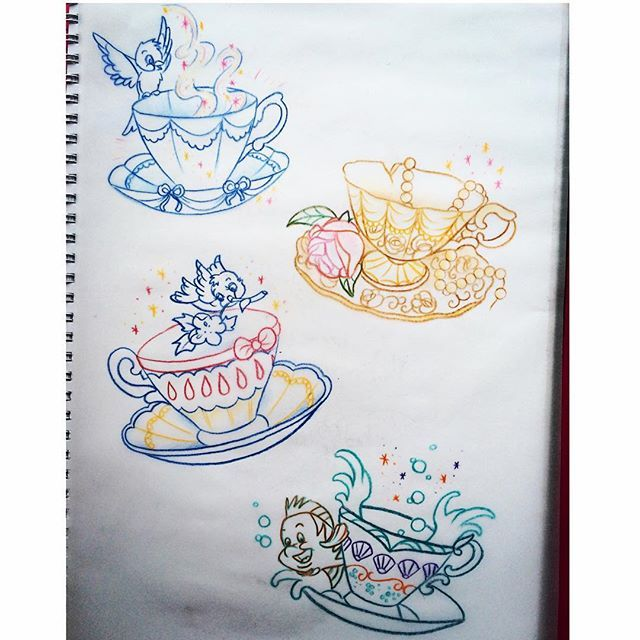 Cute Disney Tea Cup Idea