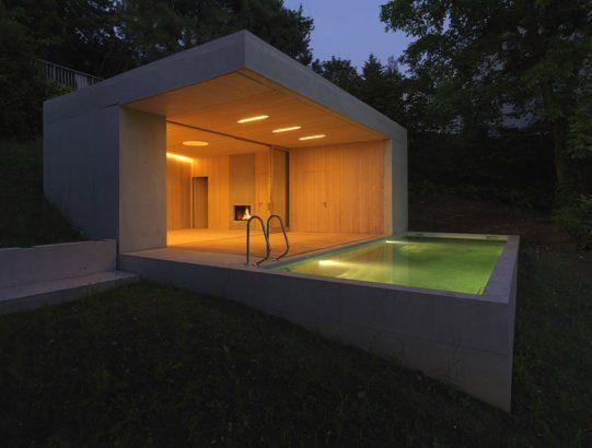 Best swimming pools & spas designs: Small outdoor concrete pool, Austria
