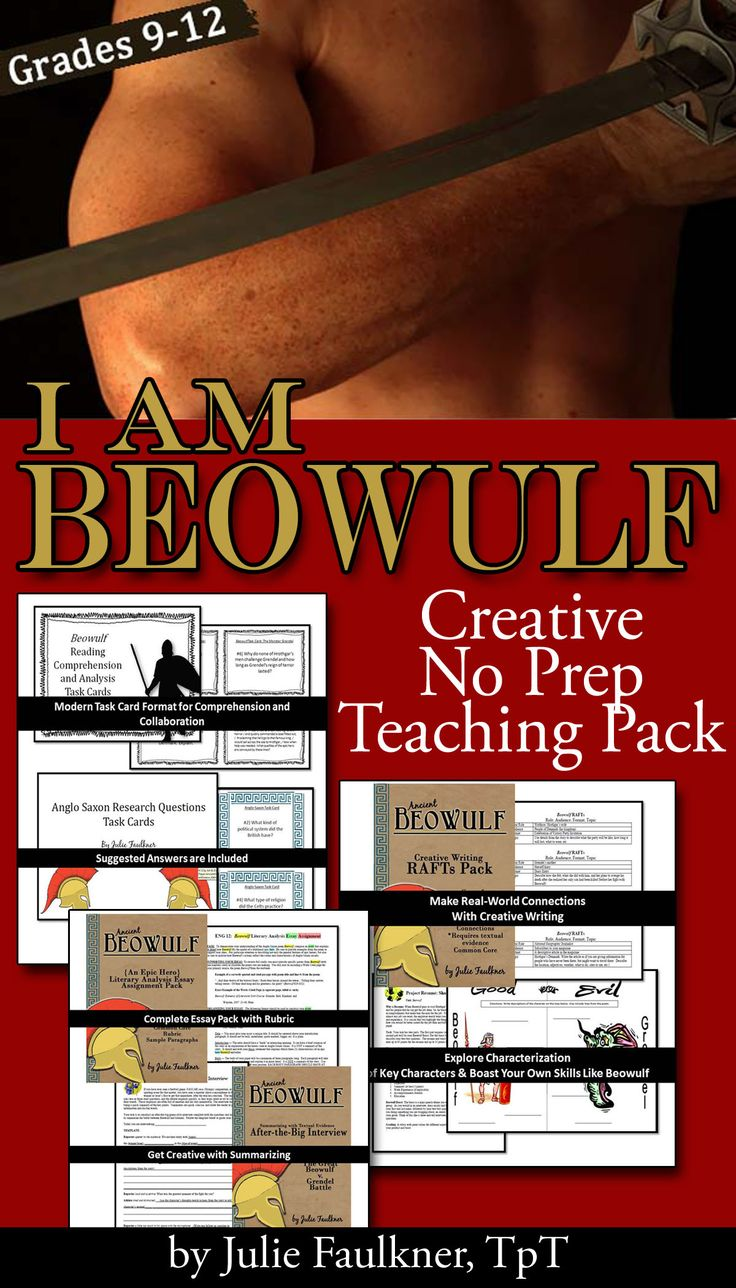 beowulf essay questions essay about grendel from beowulf beowulf  best images about beowulf the heroes lesson beowulf literature guide unit creative info text task cards quick essay topics