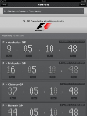 Race Calendar HD is for Race Fans, You'll never miss the race start of your favorite racing series.