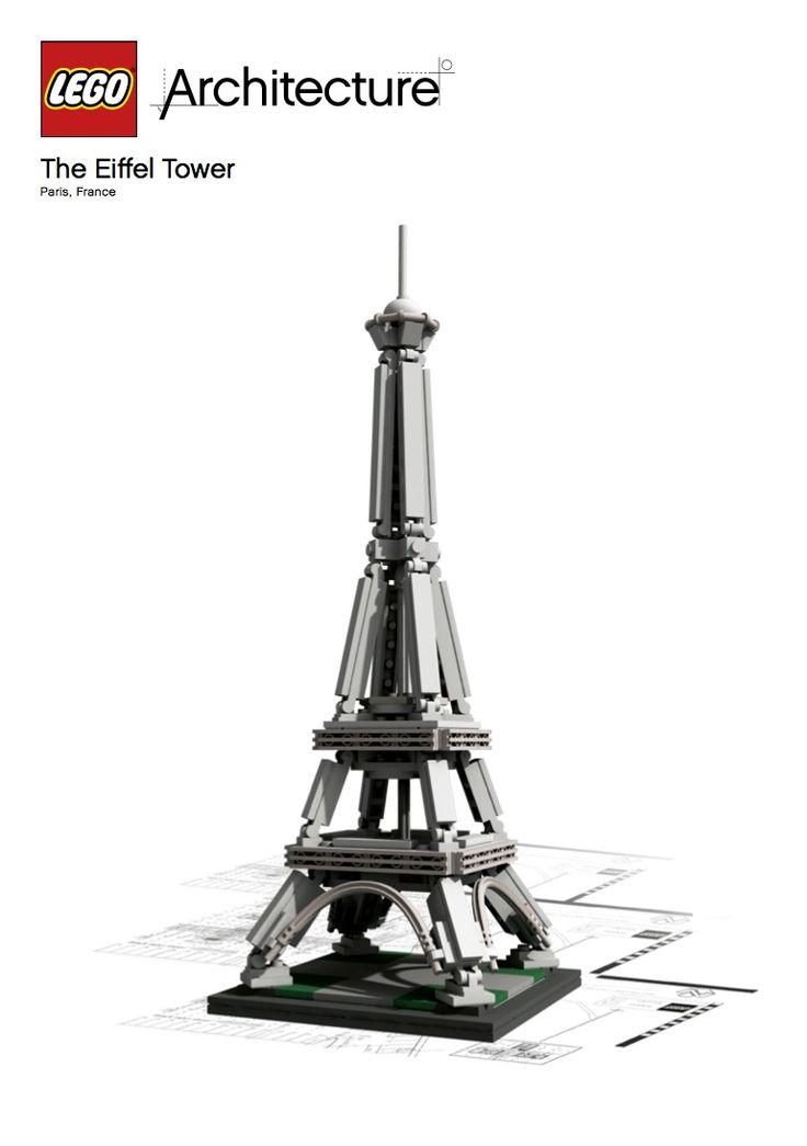 LEGO® Architecture Landmark Series: Torre Eiffel
